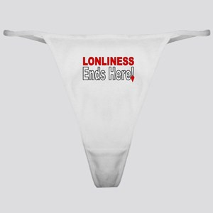 Lonliness Ends Here! Classic Thong