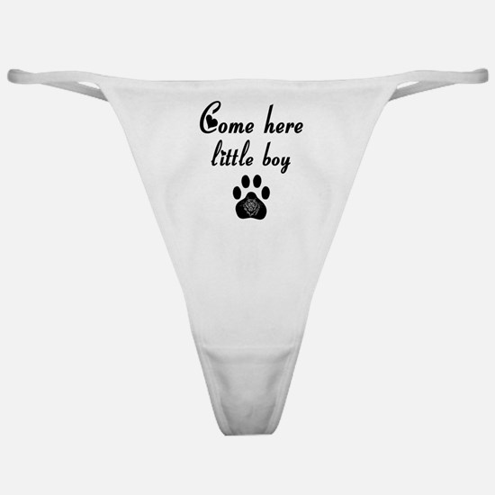 Cougar: Come Here Little Boy Classic Thong
