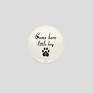 Cougar: Come Here Little Boy Mini Button