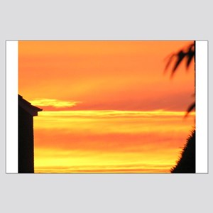 Sunset / Sunrise Large Poster