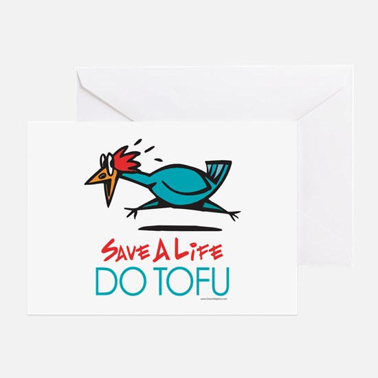 Veggie Tofu Greeting Card