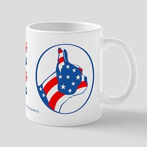 Boston Terrier Flag Mug