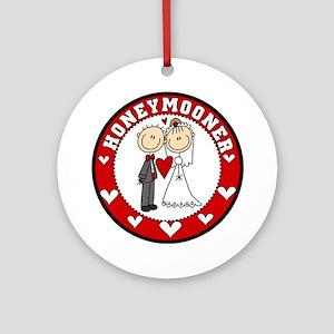 Honeymooner Ornament (Round)