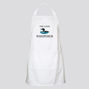 The Loon Whisperer BBQ Apron