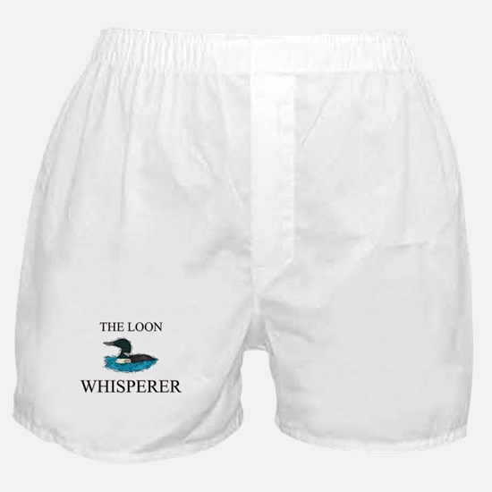 The Loon Whisperer Boxer Shorts