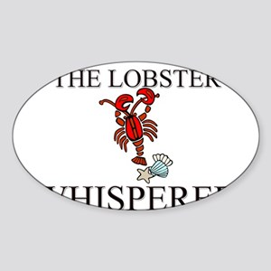 The Lobster Whisperer Oval Sticker