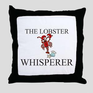 The Lobster Whisperer Throw Pillow