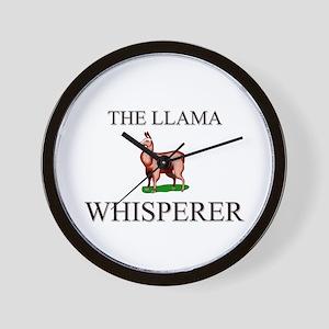 The Llama Whisperer Wall Clock