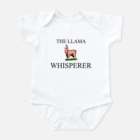 The Llama Whisperer Infant Bodysuit