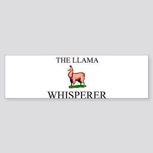 The Llama Whisperer Bumper Sticker