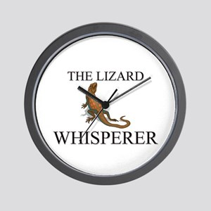 The Lizard Whisperer Wall Clock
