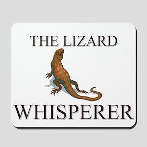 The Lizard Whisperer Mousepad
