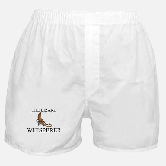 The Lizard Whisperer Boxer Shorts