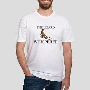 The Lizard Whisperer Fitted T-Shirt