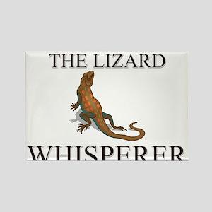 The Lizard Whisperer Rectangle Magnet