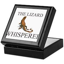 The Lizard Whisperer Keepsake Box