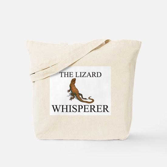 The Lizard Whisperer Tote Bag