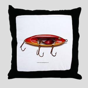 Vintage Lure 05 Throw Pillow