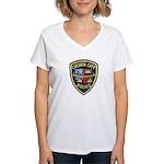 Culver City Police Women's V-Neck T-Shirt