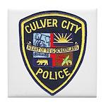 Culver City Police Tile Coaster