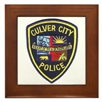 Culver City Police Framed Tile
