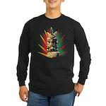 African Long Sleeve Dark T-Shirt