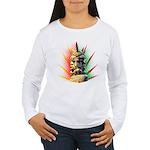 African Women's Long Sleeve T-Shirt