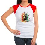 African Women's Cap Sleeve T-Shirt