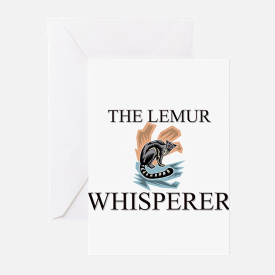 The Lemur Whisperer Greeting Cards (Pk of 10)