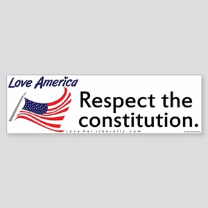 Respect the constitution.