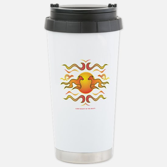 Flame Dogs Stainless Steel Travel Mug