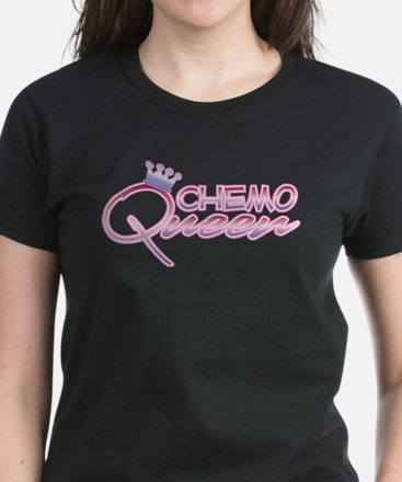 CHEMO QUEEN Women's Dark T-Shirt