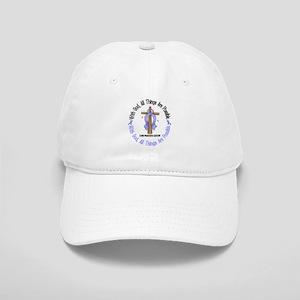 With God Cross PROSCANC Cap