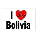 I Love Bolivia Postcards (Package of 8)