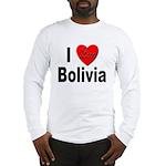 I Love Bolivia (Front) Long Sleeve T-Shirt