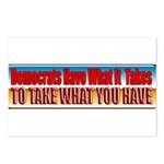 Democrats Have What It Takes Postcards (Package of
