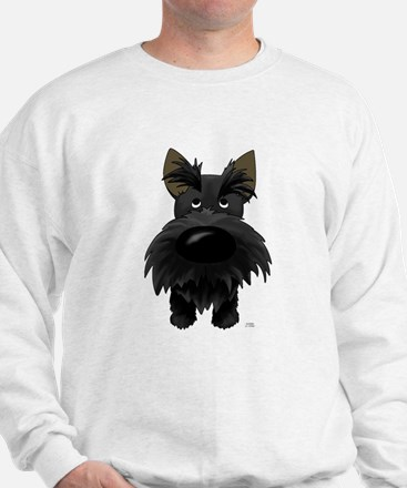 Big Nose/Butt Scottie Sweatshirt