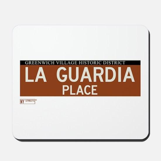La Guardia Place in NY Mousepad
