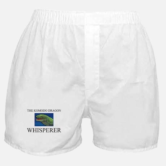The Komodo Dragon Whisperer Boxer Shorts