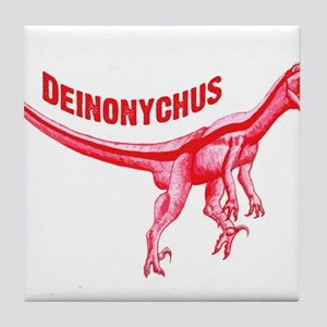 Deinonychus Tile Coaster