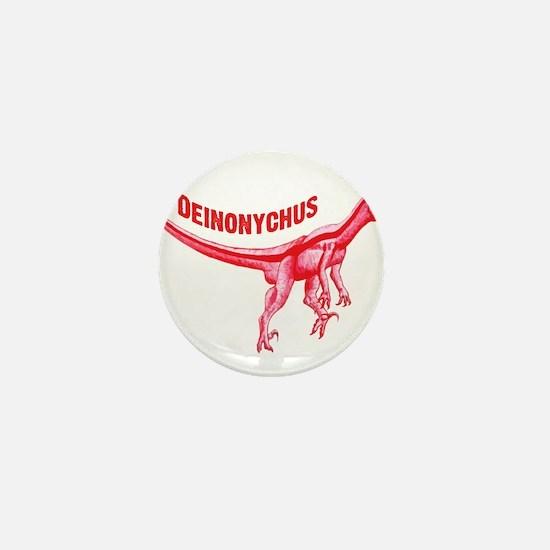 Deinonychus Mini Button