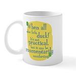 Fun Mug: When all else fails, duck