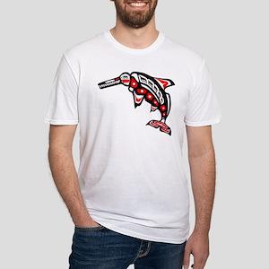 Kwak'wala Ichthyosaur Fitted T-Shirt