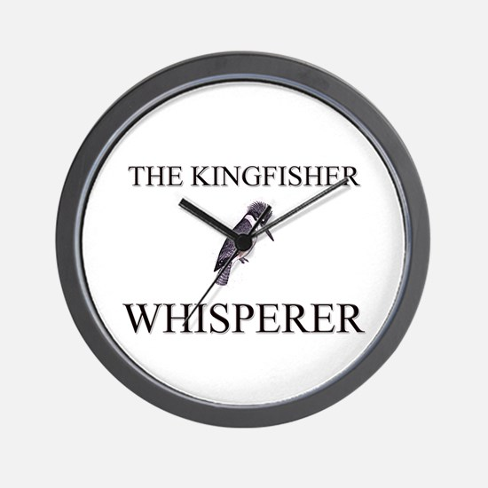 The Kingfisher Whisperer Wall Clock