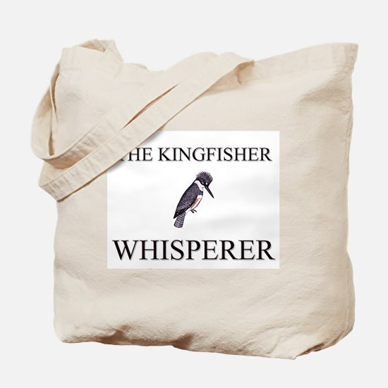 The Kingfisher Whisperer Tote Bag