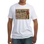 Vintage Cowboy- Wisdom Fitted T-Shirt