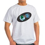 Killer Asteroid in Space Light T-Shirt