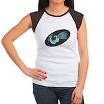 Killer Asteroid in Space Women's Cap Sleeve T-Shir