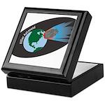 Killer Asteroid in Space Keepsake Box
