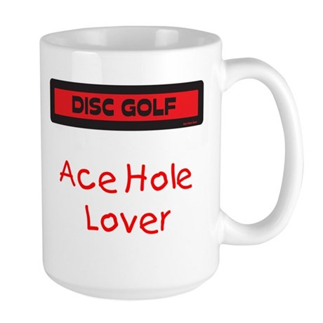 Large Ace Hole Lover Mug (Red and Black)